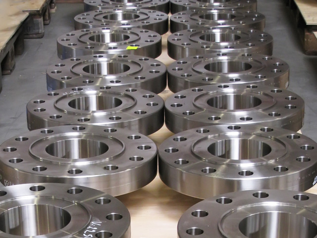 Some flanges in duplex