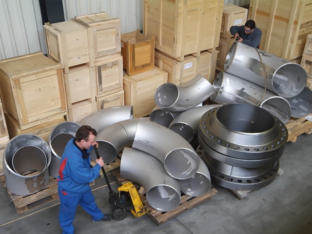 Preparing material for packing & shipment